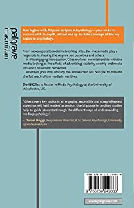 Psychology of the Media (Palgrave Insights in Psychology Series)