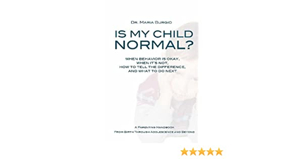 Is My Child Normal? Normal and Abnormal Child Development from ...