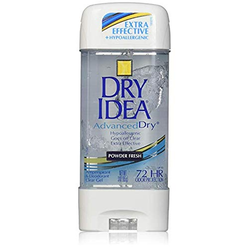 Dry Idea Gel Pwd Frsh Size 3z Dry Idea Powder Fresh Clear Gel Anti-Perspirant Deodorant 3oz