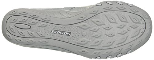 Skechers Women's 23005 Mary Janes, Black Grey (Light Grey)