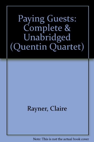 Paying Guests: Over & Unabridged (Quentin Quartet)