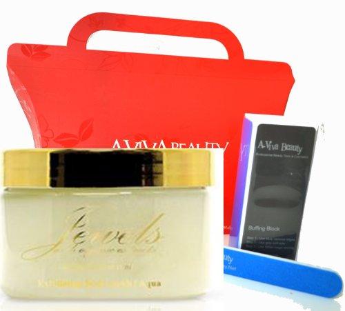 Bundle 2 Items Mica Beauty Jewels Gold Collection Aqua