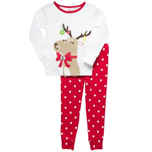 Find the coziest girls' Christmas pajamas at Carter's. Shop for footies and nightgowns to make sure she's comfy in her new holiday pjs.