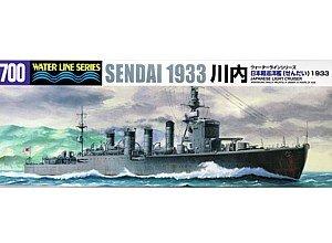 1/700 Japanese Light Cruiser Sendai -