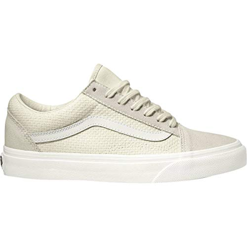 (Vans VN-0A38G1VMT: Women's Check Old Skool Marshmellow/Snow White Sneakers (7 B(M) US Women))