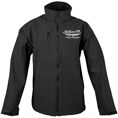 Honda Goldwing Touring Collection Soft Shell Men's Street Motorcycle Jacket - Black / Medium