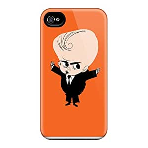 Marycase88 Iphone 4/4s Anti-Scratch Cell-phone Hard Cover Allow Personal Design Trendy Rise Against Pictures [zVF4244CrdZ]