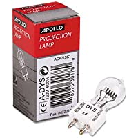 Apollo Replacement Bulb for Buhl/Bell&Howell/Eiki/Da-lite/3M Projectors, 120 Volt