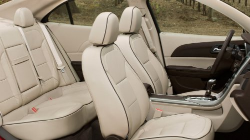 Chevrolet Malibu LT/Hybrid 2011-2012 OE Factory Replacement Leather Seat Covers Upholstery Kit