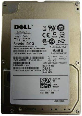 9FJ066-150 Seagate 146GB 10000RPM SAS 6.0 Gbps 2.5 inch Hard Drive Renewed