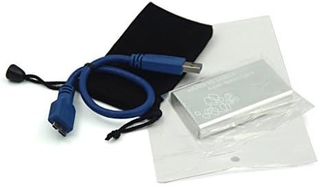 Mini mSATA a USB 3.0 Cable SSD Caja de Disco Duro Carcasa Externa ...