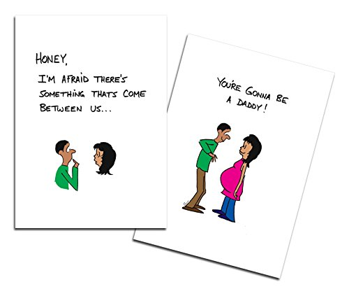 Dad's Castle Pregnancy Announcement - You're Going to be a Daddy Card, Ethnic People of Color Ethnic Stationery