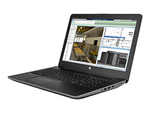 HP ZBook 15 G i7 15.6 inch SVA Quadro Black