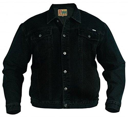 Camionista Grande Black Cappotto Jeans Giacca Duke Western Da Slavati Size Uomo King Stile London Zq4wZgA