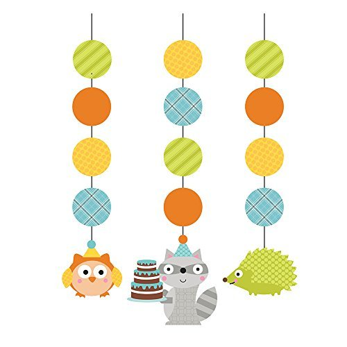 Hoffmaster Group 995670 Woodland Boy Hanging Cutouts]()