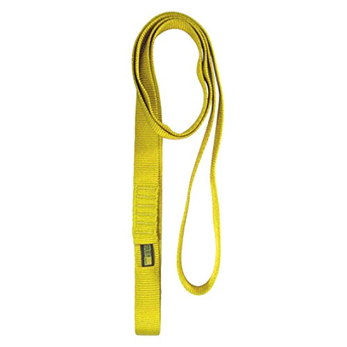 Sterling 1'' Tube Sling 48'' Neon Yellow by Sterling Rope Company