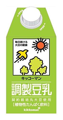 Kibun prepared soy milk 500mlX12 this by Kikkoman