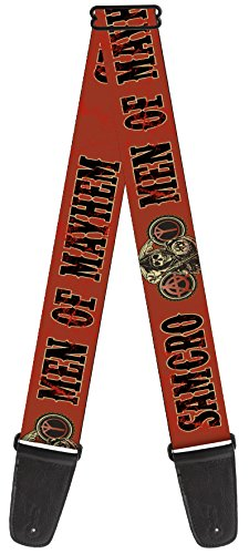 "Sons of Anarchy Theme Nylon Guitar Strap - ""Men Of Mayhem"" w"