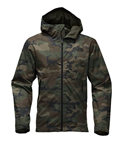 The North Face Men's Millerton Jacket - Terrarium Green Woodland Camo Print - L