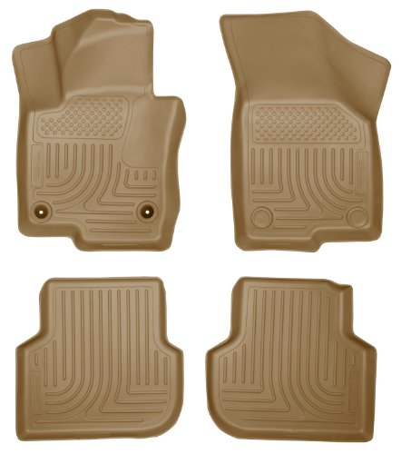 Husky Liners Front & 2nd Seat Floor Liners Fits 11-16 Vol...