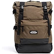State Bicycle Co. Roll-Top Reflective Backpack Messenger Bag
