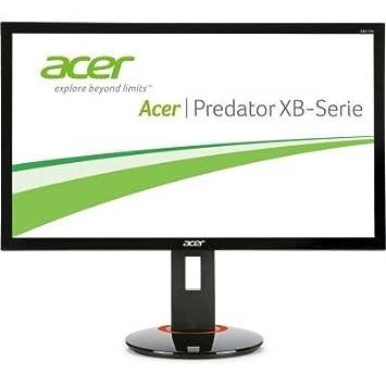 Acer Predator XB270HAb 27 inch LED Gaming Monitor, G-Sync, 1 ms, 144 Hz,  Displayport, 100M:1, Pivot