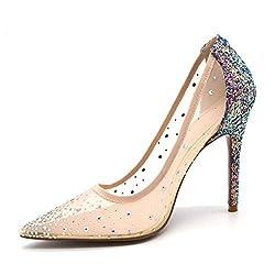 Women's Rhinestone Stiletto High Heels