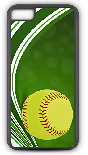 iPhone 6s Case Create Your Own Softball Batting Average Player Number and Name Customizable by TYD Designs in Black Rubber (Tigers Batting)