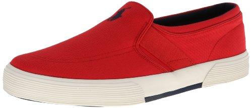 Polo Ralph Lauren Men's Fakenham Fashion Sneaker,Red,10.5 D US