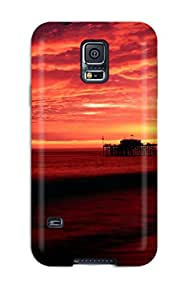 New Style 3963396K38086203 Tpu Case Skin Protector For Galaxy S5 Balboa Pier, California With Nice Appearance