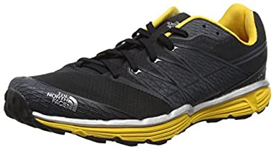 The North Face Men's Litewave TR Phantom Grey/TNF Yellow 8 D - Medium