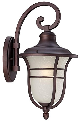 Acclaim 3662ABZ Montclair Collection 1-Light Wall Mount Outdoor Light Fixture, Architectural Bronze Review