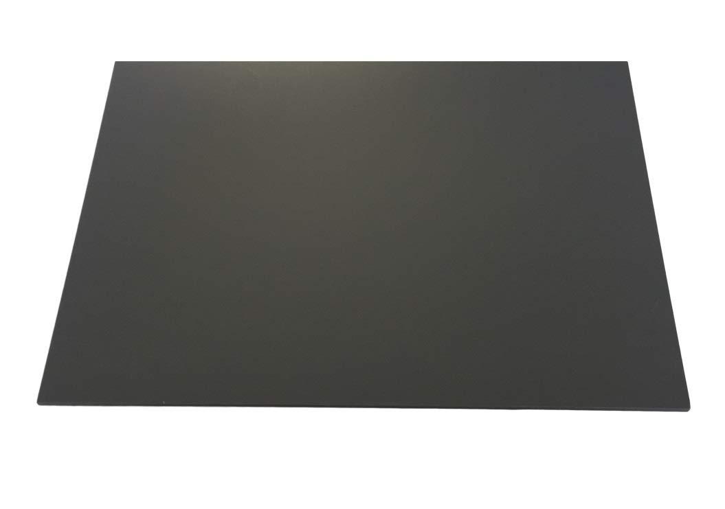 macizo PVC gris RAL 7011 6, 0 mm de grosor 1000 x 495 mm PVC duro rí gida placa escaparate Decoració n/carga Diseñ o 0mm de grosor 1000x 495mm PVC duro rígida placa escaparate Decoración/carga Diseño Kömmerli