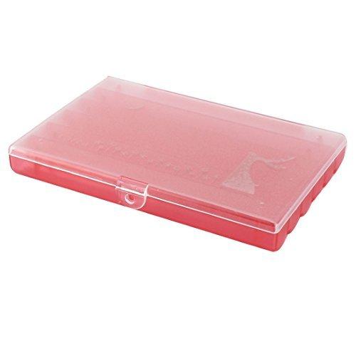 DealMux Plastic Home 6 Compartimentos Medicina Jewelry Box Organizer Titular rosa claro