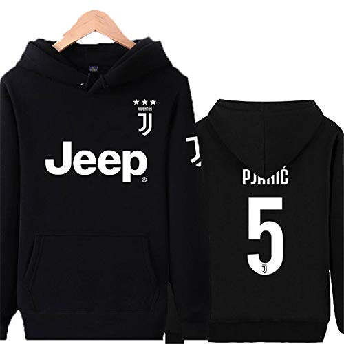 Felpa Calcio 5 Da No No 7c Per Soccer Donna Ragazzi Uomo Juventus Neck Lunga Clubround E Ronaldo Manica qfrqCxvw