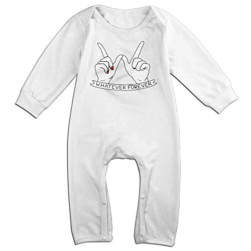 Infant Baby's Diy Whatever Forever Long Sleeve Romper Jumpsuit 24 Months (Max Hall Costume)