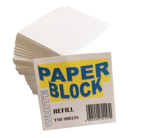 House of Card & Paper Paper Block - White (Pack of 750 Sheets) HCP71