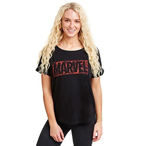 Marvel Dames T – Shirt COMIC LOGO