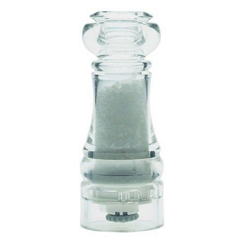 Capstan Acrylic Salt Mill 14cm (Pack of 6) by T&G Woodware