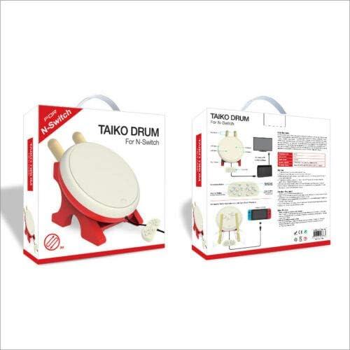 GDreamer Switch Taiko Drum Game Controlador con cable para Tiko Drum Master para Nintendo Switch Console: Amazon.es: Videojuegos