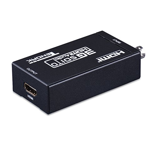 - Tendak SDI HD-SDI 3G-SDI to HDMI 720p/1080p Adapter Video Converter with Embedded Audio