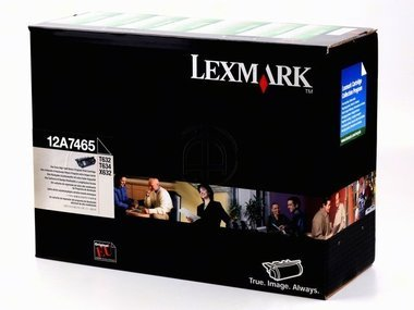 (Lexmark 12A7465 High Yield - black - original - toner cartridge LRP - for T632, 634, 634dtn-32; X632, 634)