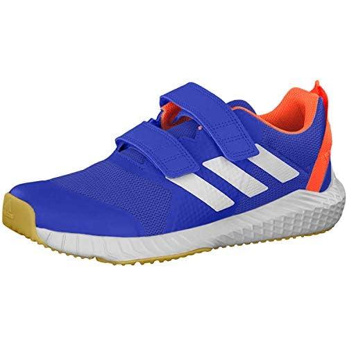 chollos oferta descuentos barato Adidas Fortagym CF Jr Zapatillas de Competición Unisex Niños Azul Reauni Ftwbla Narsol 000 34 EU