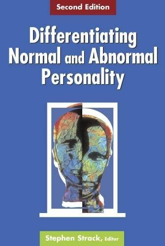 Differentiating Normal and Abnormal Personality: Second Edition