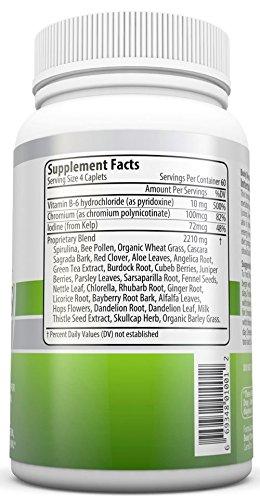 Mega Wellness Internal Cleanse Cleansing Complex Natural Herbal Detox Cleanse 240 caplets