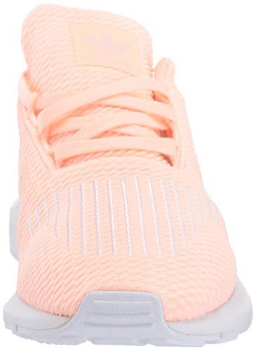 adidas Originals Baby Swift Running Shoe, Clear Orange/Weiss-Schwarz/White, 4K M US Toddler by adidas Originals (Image #4)