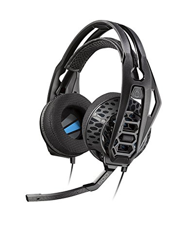 Plantronics 203802-01 RIG 500E Lightweight E-Sports Edition Gaming Headset with Surround Sound
