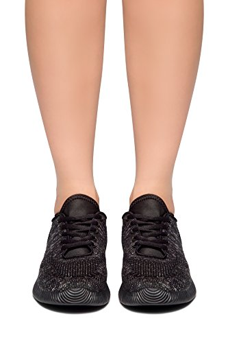 Herstyle Womens So Fresh Knit Breathable New Light Weight Go Easy Walking Casual Athletic Comfort Running Shoes Fashion Sneakers Black KYry5FW1eS