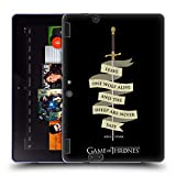 Official HBO Game of Thrones Arya Quote Needle Graphics Soft Gel Case Compatible for Amazon Kindle Fire HDX 8.9
