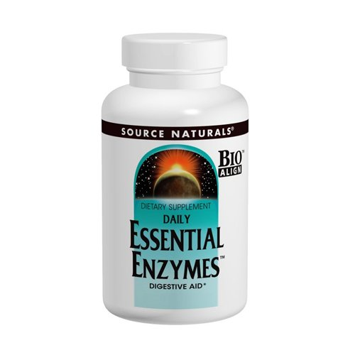 Source Naturals quotidiennes enzymes essentielles, 500mg, 360 capsules
